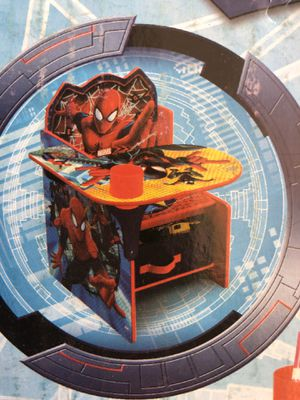 Kids spider man chair/desk for Sale in Carlsbad, CA