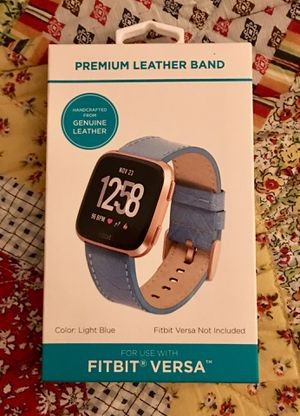 FitBit Versa leather band for Sale in Lancaster, KY