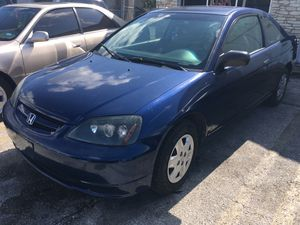 2003 Honda Civic 2950 1500 down no credit check no drivers license needed no paystubbs needed for Sale in San Antonio, TX