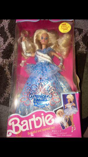 Barbie 1991 American beauty queen doll $20 for Sale in Fontana, CA