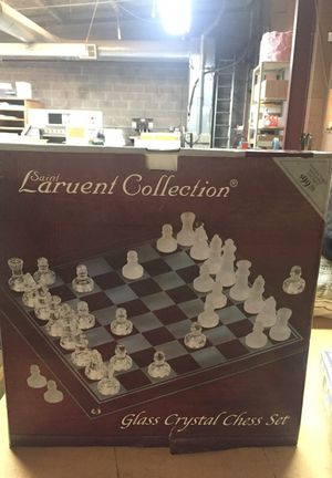 Glass chess set and Monopoly Hotels for Sale in Lodi, CA