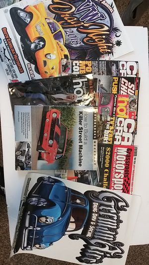 AUTOMOBILE BOOK, MAGAZINE AND POSTERS for Sale in Charlotte, NC