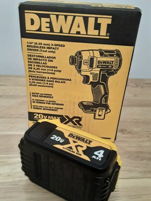 XR Impact Drill + 4AH Battery Pack for Sale in Brooklyn, NY