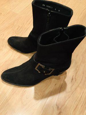 Used Stuart Weitzman Black Bootie Size 8 for Sale in Washington, DC