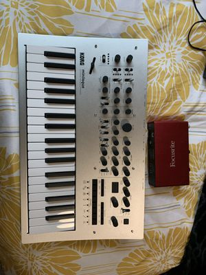 Korg Minilogue Synthesizer w/ Focusrite Scarlett 2i2 2nd Gen for Sale in Port Orchard, WA