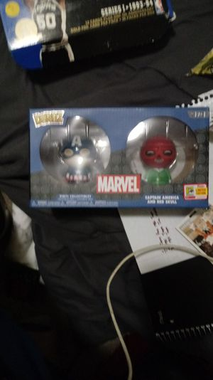 Dorbz marvel captian America and red skull brand new for Sale in Seattle, WA