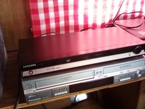 DVD player $20 and DVD/ VHS recording $45 for Sale in Hesperia, CA