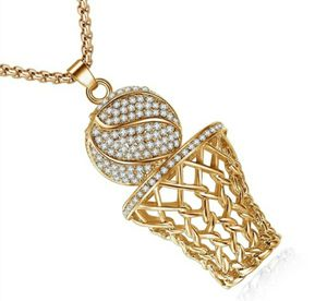 NEW Basketball Hoop Pendant & Necklace for Sale in Holly Hill, FL