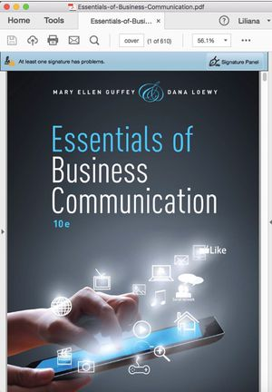 Esssentials of Business Communications for Sale in El Monte, CA