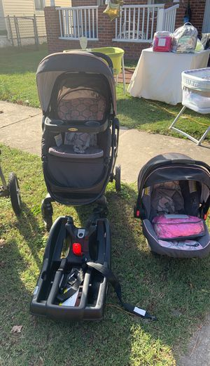 Grace modes stroller system with click connect base for Sale in Chesapeake, VA