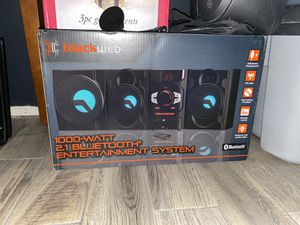 Blackweb Bluetooth Entertainment System for Sale in Elmont, NY