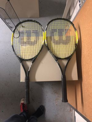 wilson tennis rackets for Sale in Glendale, AZ