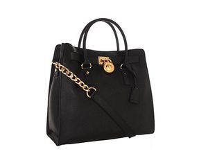Micheal Kors Black Hamilton Tote Bag for Sale in Fairfax, VA