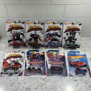 Hot Wheels Spiderman Maximum Venom Set for Sale in Valparaiso, IN