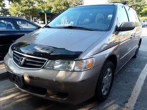 2005 Honda Odyssey 3rd Row Leather Clean Title Cold AC Runs Great for Sale in San Antonio, TX