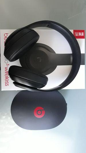 beats studio 3 wireless headphones for Sale in Buena Park, CA