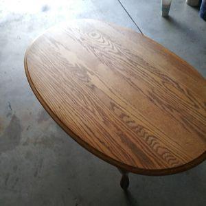Oak coffee table for Sale in Wichita, KS