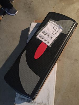 New,! Open box 📦, workout 🏋🏼♀️ stepper. Fitness step board. for Sale in Palmdale, CA