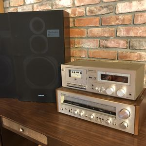 Vintage Technics Stereo System for Sale in Cupertino, CA
