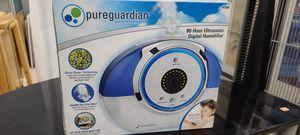 Pureguardian 80 hour ultrasonic digital humidifier for Sale in Lynn, MA