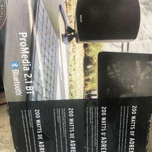 Klipsch 2.1 speaker system for Computer for Sale in South Gate, CA