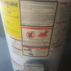 50 Gallon Propane Water Heater for Sale in Shafter, CA