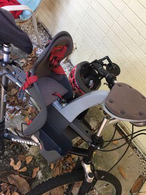 Bike, bike trailer and bike seat for Sale in Englewood, FL