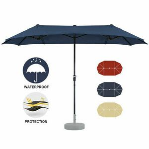 NEW 13Ft Double-Sided Large Umbrella Sun Shade for Outdoor Area for Sale in San Diego, CA