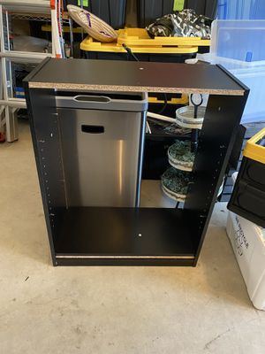 Black shelving unit from amazon for Sale in Everett, WA