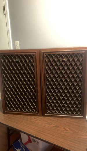 Vintage coral audio corporation Bx1001 3 way speakers for Sale in St. Louis, MO