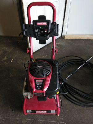 3000 psi Craftsman pressure washer for Sale in Baltimore, MD
