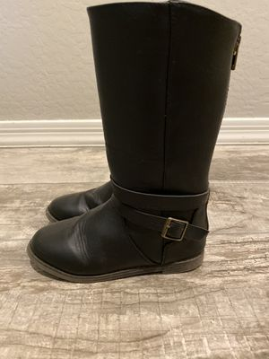 Little girl's Black Boots Size 13 for Sale in Mesa, AZ