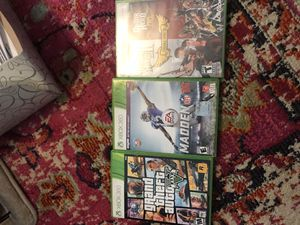 Guitar hero and guitar, Madden 16 Xbox 360 games for Sale in Smyrna, GA