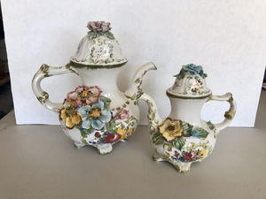 Beautiful Bassano vintage teapots from Italy for Sale in Los Angeles, CA