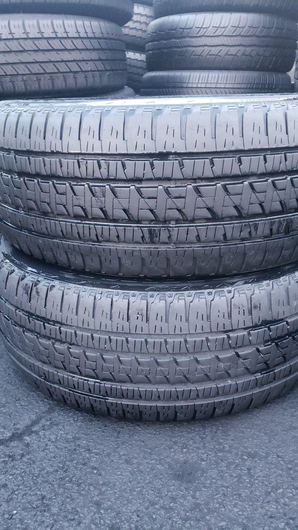 2 bridgestone tires 285/45/20