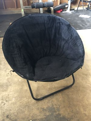 Black Saucer Chairs for Sale in Fresno, CA