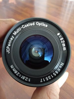 LIKE-NEW JCPenney 28mm f1:2.8 Wide-angle P/K-mount for Sale in Chino, CA
