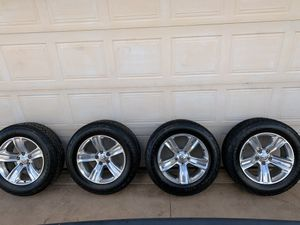 Brand new 20 inch ram rims and tires for Sale in Tucson, AZ
