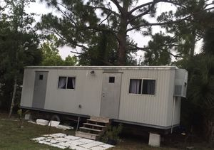 Office trailer conversion - all you need to live in for Sale in Cocoa, FL