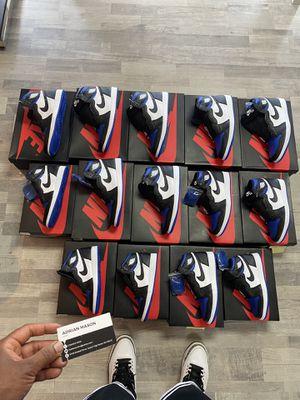 Jordan 1 Royal Toes for Sale in Gig Harbor, WA