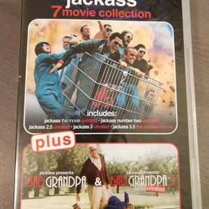 Jackass 7 Movie Collection (dvd) for Sale in Bedford, TX