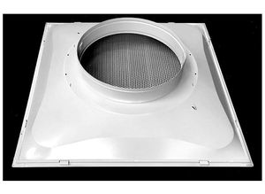 """24"""" x 24"""" T-Bar Drop Ceiling Perforated Return Grill - Metal Back Casing - with 8"""" Collar for Sale in Las Vegas, NV"""