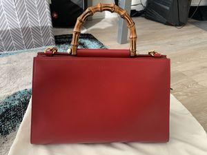 Gucci Handbag New Gucci Red Leather Nymphaea Medium Shoulder Bag for Sale in Arlington, VA