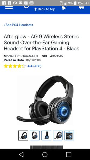 Everthing is up there about these there for ps4 for Sale in Roanoke, VA
