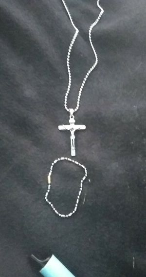 Necklace with charm and bracelet for Sale in Kannapolis, NC