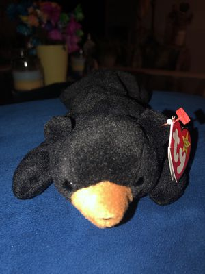 Blackie the beanie baby extremely rare with extra tush tag Canada exclusive for Sale in San Diego, CA
