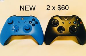 Xbox One Wireless Controllers 2 for $60 for Sale in Los Angeles, CA