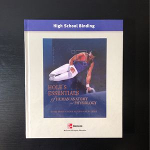 Hole's Essentials of Human Anatomy and Physiology Textbook for Sale in Anaheim, CA