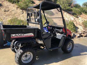 Land master 4x4 650cc UTV for Sale in Escondido, CA