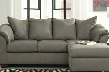 New Darcy Cobblestone Sofa Chaise⭐ In Stock 💗Couch & living room set & sofa for Sale in Houston,  TX